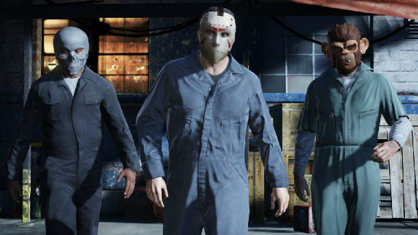 GTA 5 Heists Content geleaked