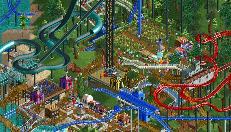 RollerCoaster Tycoon 2